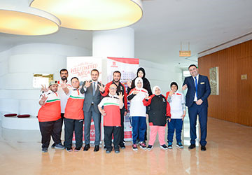 ABC&R Hosted the UAE athletes and delegates of the Special Olympics World Games
