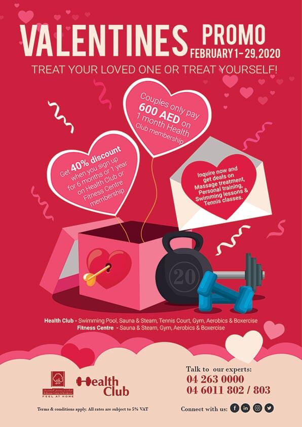 Health Club – Valentines Promo